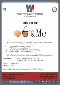 Vortrag des WB in Krenglbach